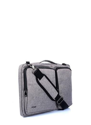 ÇÇS Çanta Laptop /Evrak Çantası Gri